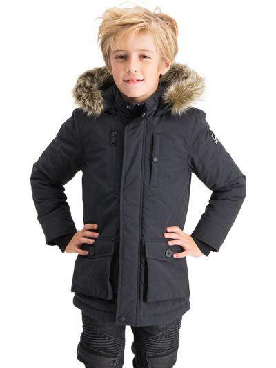 Купить Куртка, Vingino, Черный, Хлопок-65%, Нейлон-35%, Мужской