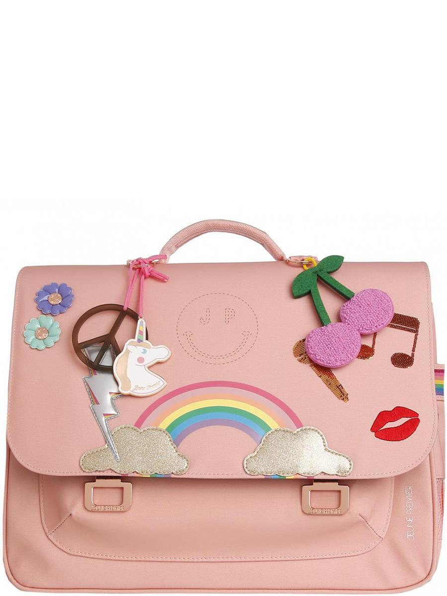 Купить Портфель, Jeune Premier, Розовый, UNI, Полиэстер-100%, Женский