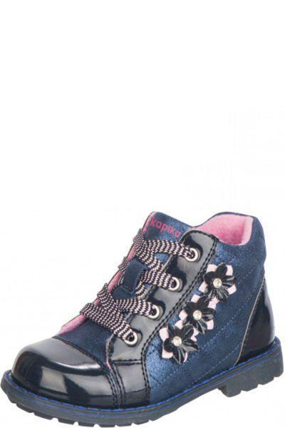 Ботинки для девочки 52232yk-1 синий Kapika, Российская Федерация