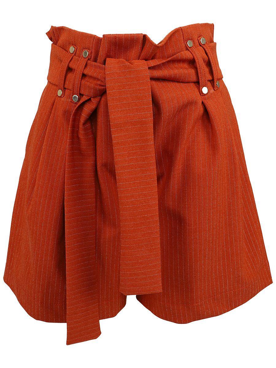 шорты y-clu' для девочки, оранжевые