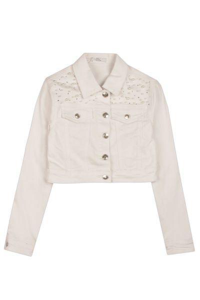 Купить Куртка, Y-clu', Белый, Полиуретан-100%, Женский