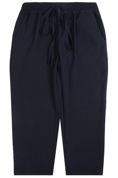 брюки y-clu' для девочки, синие