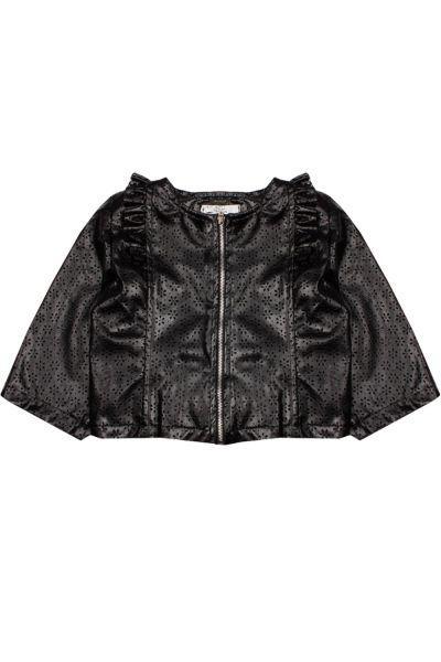 Купить Куртка, Y-clu', Черный, Хлопок-90%, Эластан-10%, Женский