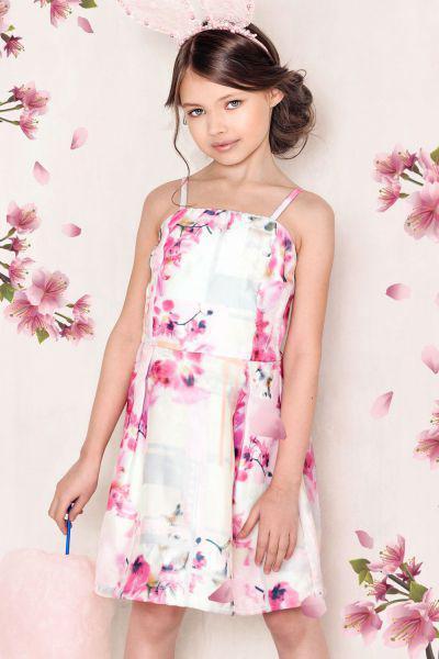 Платье для девочки TF15137 разноцветный To Be Too, Китай (КНР)