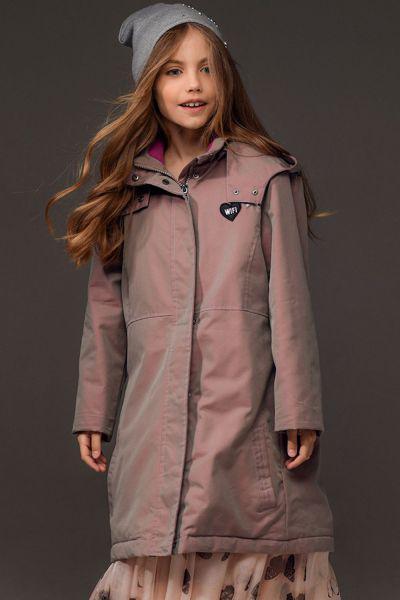 Купить Куртка, Noble People, Розовый, Хлопок-68%, Полиэстер-32%, Женский