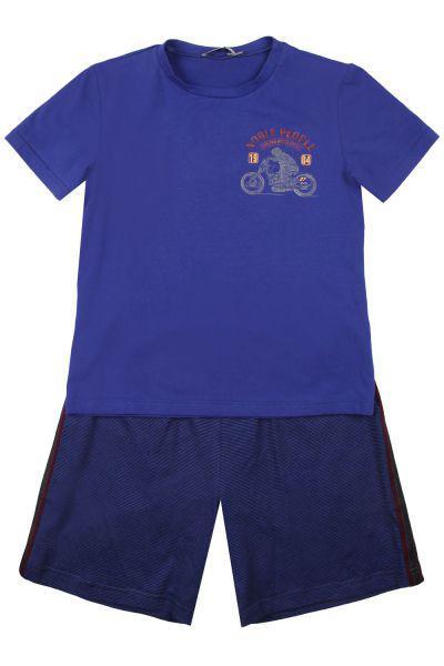 Купить Футболка+шорты, Noble People, Голубой, Мужской