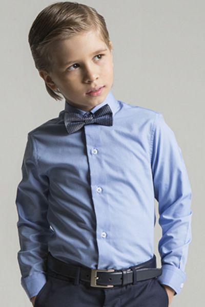 Купить Рубашка, Noble People, Голубой, Хлопок-70%, Полиэстер-30%, Мужской