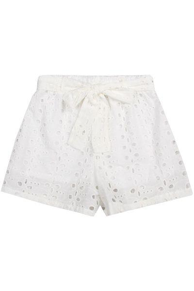 шорты manila grace для девочки, белые