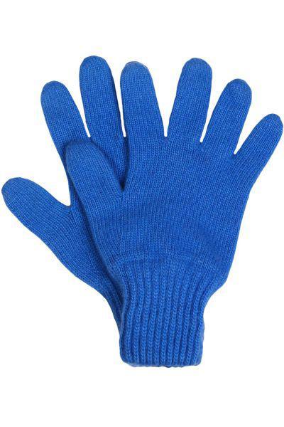 Перчатки Noble People голубого цвета