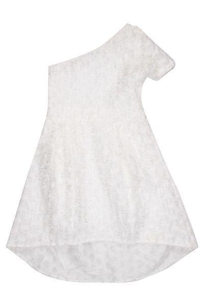 Купить Платье, To Be Too, Белый, Полиэстер-80%, Хлопок-20%, Женский
