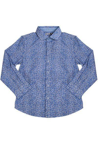 Рубашка, Street Gang, Голубой, Хлопок-100%, Мужской  - купить со скидкой