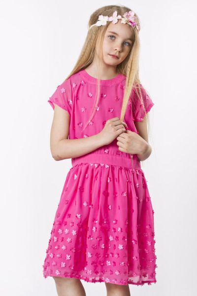 Платье для девочки GE631757 розовый Gaialuna, Китай (КНР)