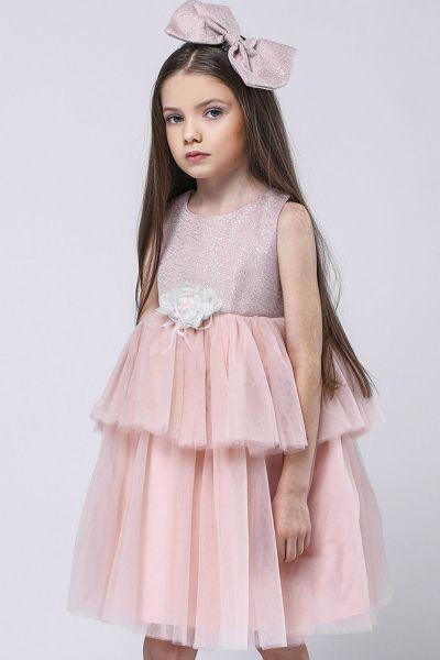 Купить Платье, Amigo7seven, Розовый, Полиэстер-100%, Женский