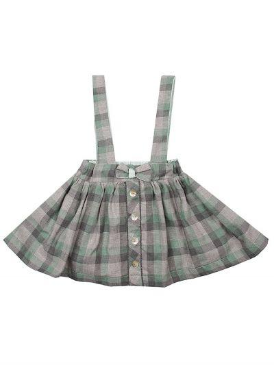 юбка y-clu' для девочки, зеленая