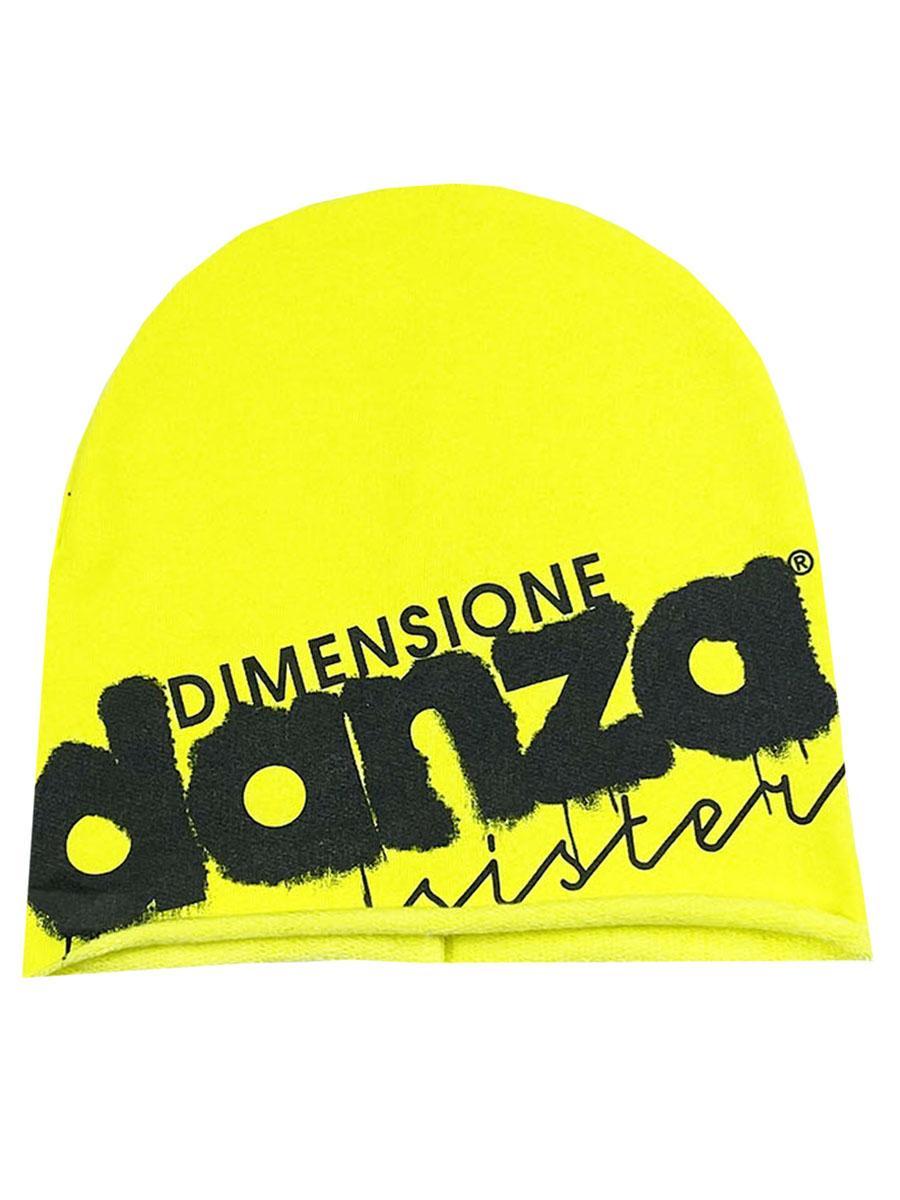 шапка dimensione danza для девочки, желтая