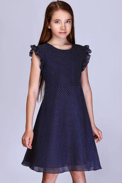 Купить Платье, Noble People, Синий, Полиэстер-100%, Женский