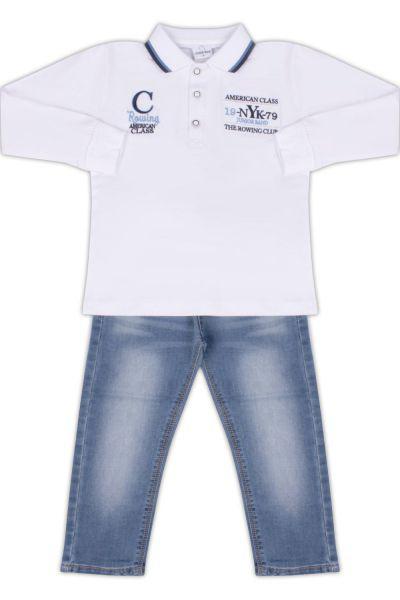 Лонгслив+джинсы