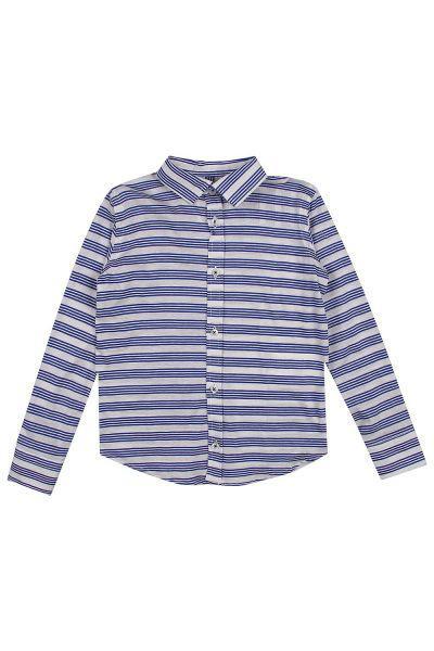рубашка street gang для мальчика, синяя
