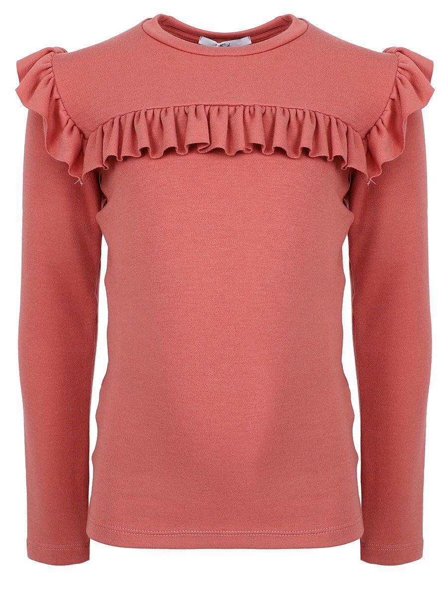 футболка y-clu' для девочки, розовая