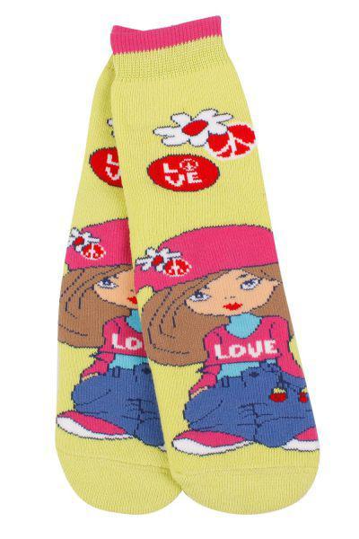 Носки для девочки SAM-1007 зелёный Charmante, Китай (КНР)