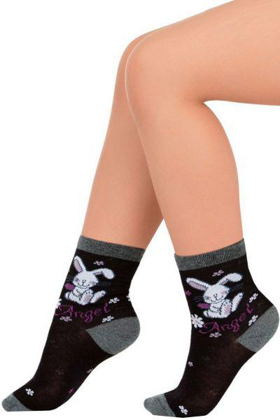 носки charmante для девочки, черные