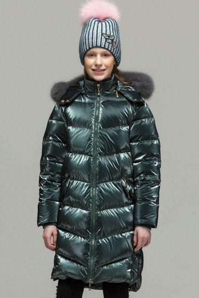 Купить Пальто, Laddobbo, Зеленый, Нейлон-50%, Полиуретан-50%, Женский
