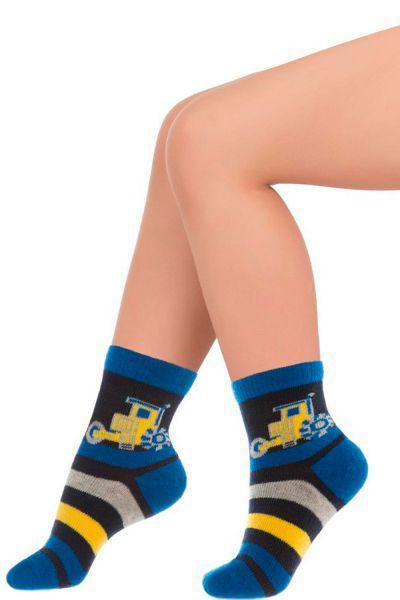 Носки для мальчика SNK-1460 синий Charmante, Италия