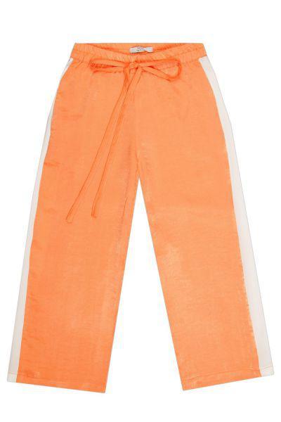 Купить Брюки, Y-clu', Оранжевый, Хлопок-97%, Эластан-3%, Женский