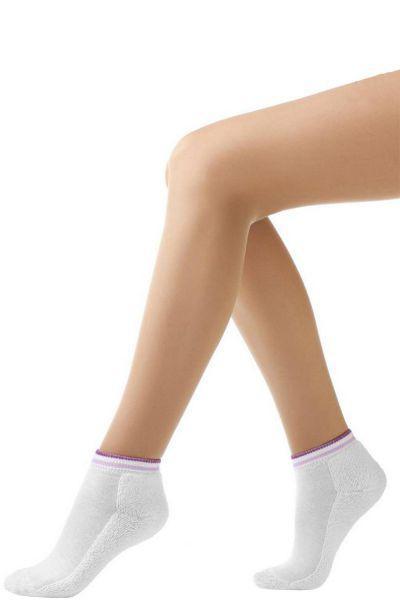Носки махровые для девочки SBARM-1060A белый Charmante, Италия