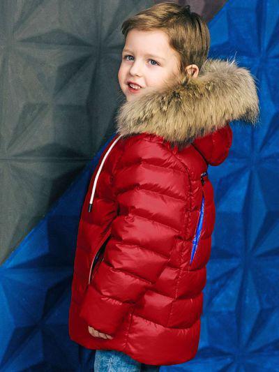 Куртка, GnK, Красный, Полиэстер-100%, Мужской  - купить со скидкой