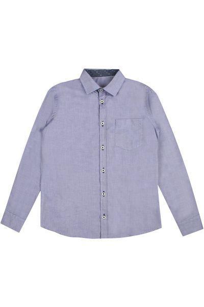 Купить Сорочка, Y-clu', Голубой, Полиэстер-100%, Мужской