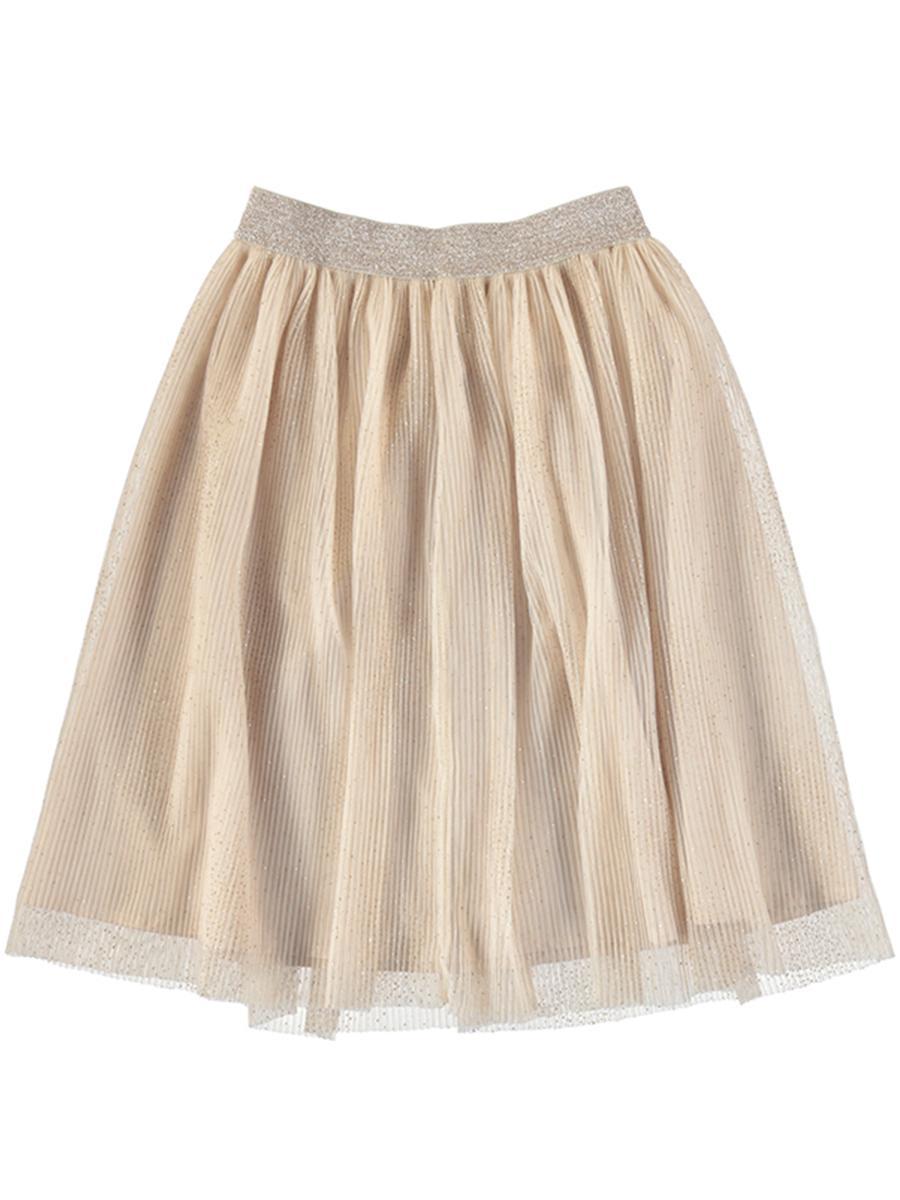 юбка mayoral для девочки, бежевая