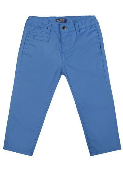 брюки y-clu' для девочки, голубые