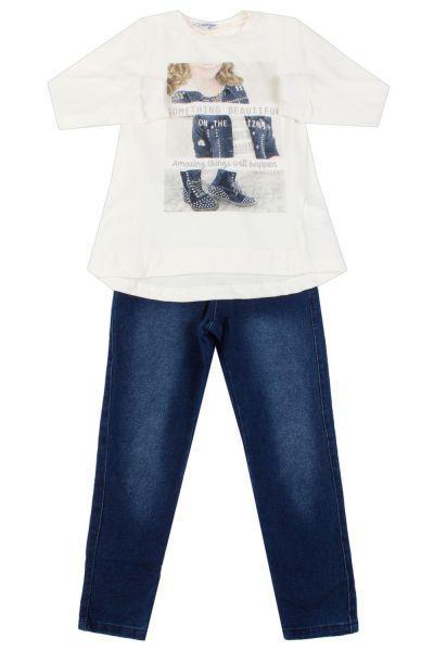 Лонгслив+джинсы, Band  - купить со скидкой