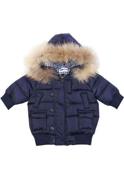 куртка gas для мальчика, синяя