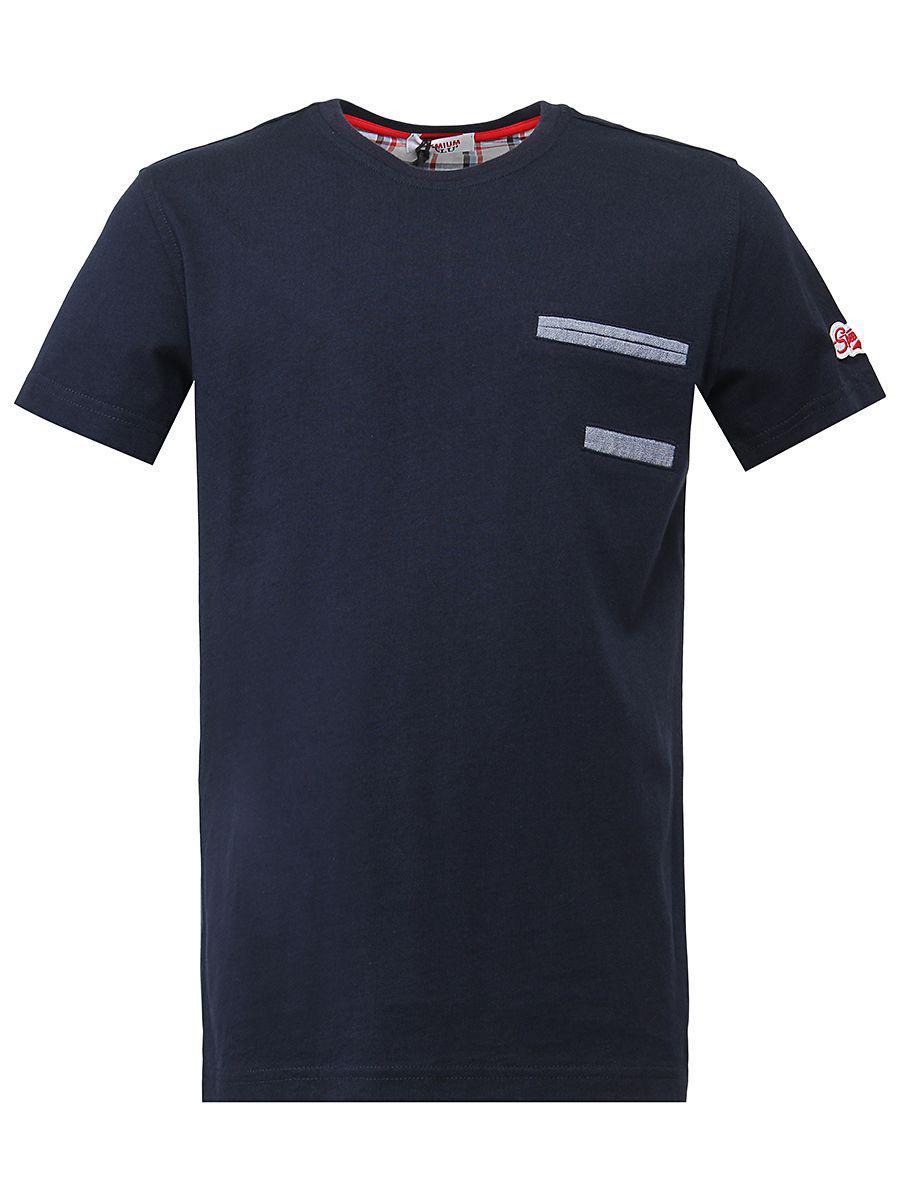 футболка y-clu' для мальчика, синяя