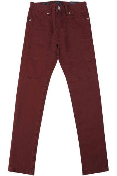 брюки jeckerson для девочки, фиолетовые