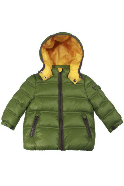 куртка gas для мальчика, зеленая