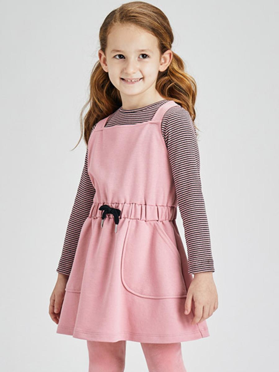 лонгслив mayoral для девочки, розовый