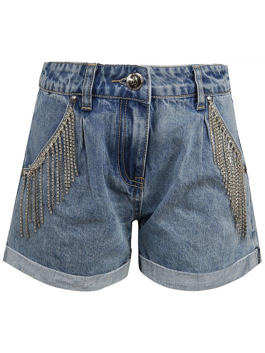шорты gaialuna для девочки, синие