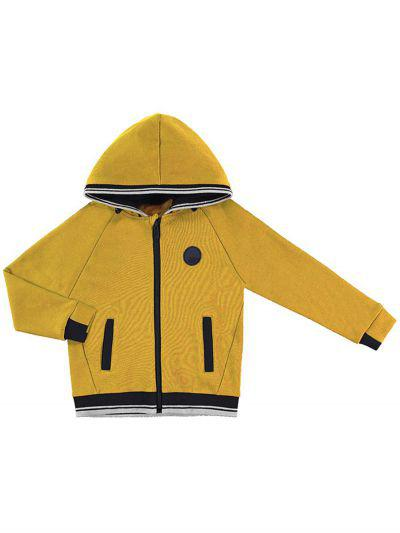 Купить Куртка, Mayoral, Желтый, Хлопок-55%, Полиэстер-44%, Эластан-1%, Мужской