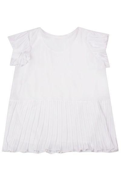 Купить Блуза+топ, Byblos, Белый, Полиэстер-100%, Женский
