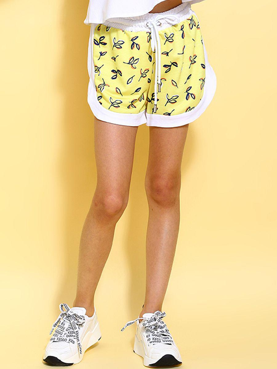 шорты y-clu' для девочки, белые