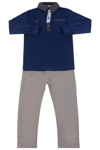 Купить Лонгслив+брюки, Band, Разноцветный, Хлопок-50%, Полиэстер-45%, Лайкра-5%, Мужской