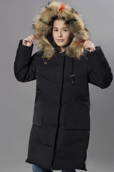 Куртка, MNC, Черный, Полиэстер-100%, Женский  - купить со скидкой