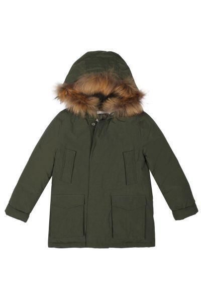 Купить Куртка, Y-clu', Зеленый, Полиэстер-100%, Женский