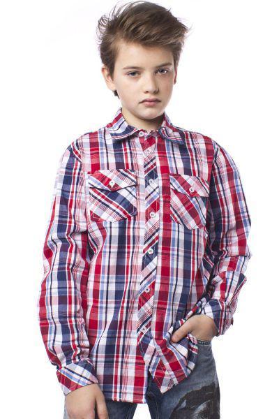 Купить Рубашка, Trybiritaly, Разноцветный, Хлопок-100%, Мужской